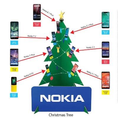 手机类圣诞树