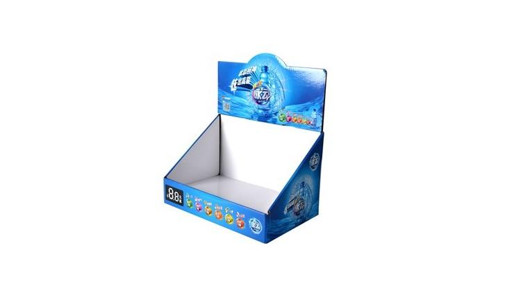 脉动饮料纸展示盒