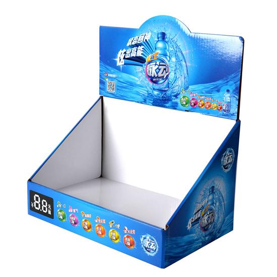 饮料纸展示盒