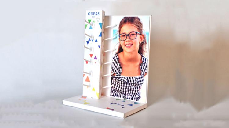 眼镜纸货架/纸展示架