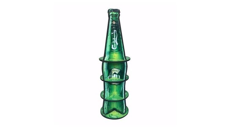 酒类行业纸货架/纸展示架