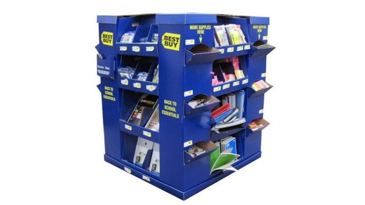 文具纸货架/纸堆头