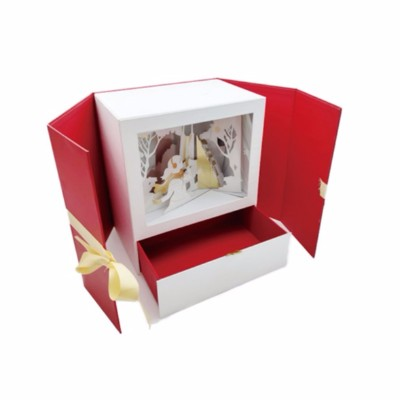 冬日场景高档礼品包装盒