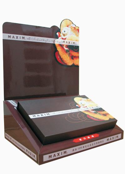 食品类纸PDQ展示盒