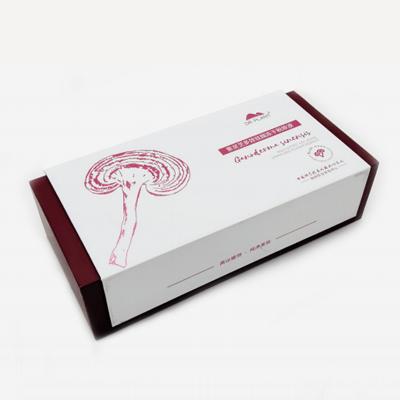 常规翻盖式高档礼品包装盒B