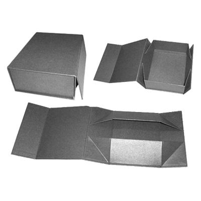 平摊折叠高档礼品包装盒