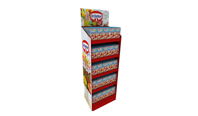 软糖类纸展示架/纸货架