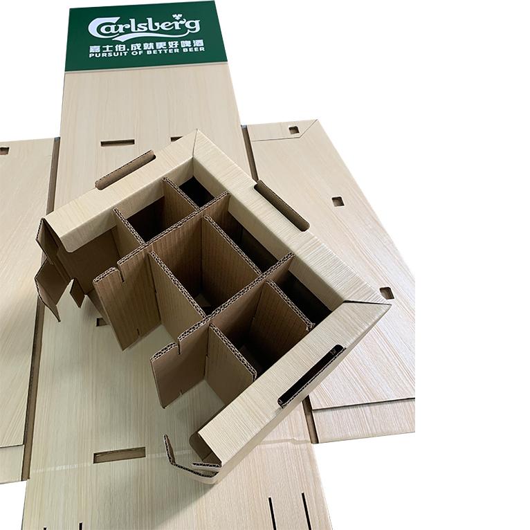 纸货架平板运输
