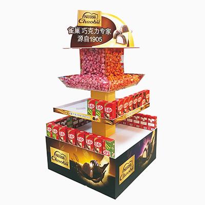 德芙巧克力纸堆头