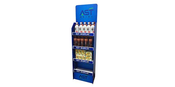 超市饮料展示架摆放小窍门