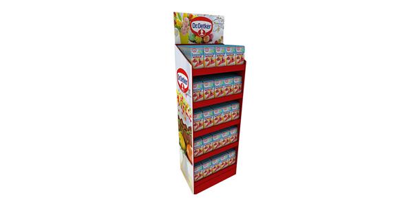 POP终端纸展示架可以提升品牌形象和品牌附加值