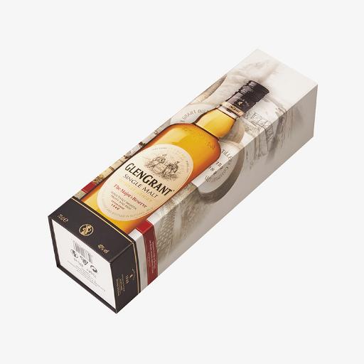 可折叠威士忌包装盒