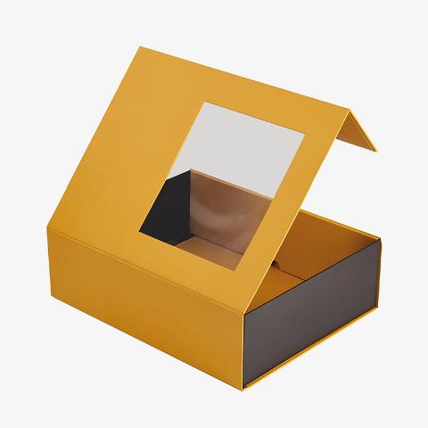 开窗式纸包装盒